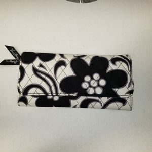 Vera Bradley wallet in night and day